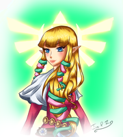 Zelda by Ice-P-Z