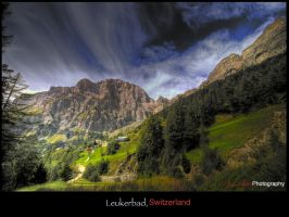 Leukerbad Mountain View 1 - WP by superjuju29