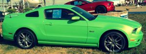 2013 Ford Mustang GT by NeverEndingAdventres