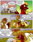 Flare and Fire Pg 40 by oogaboogaz