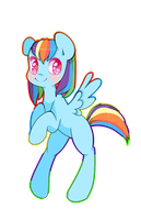 Rainbow Dash by LadyCuteDraw