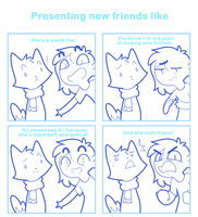 Presenting new frienda like by SmokyJack
