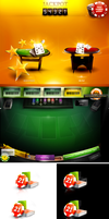 poker game interface by webdesigner1921