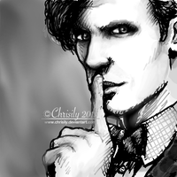 11th Doctor Sketch by Chrisily