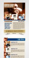 Coffee Flyer by pascreative