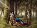 -Commission- Forest Romance by Makirou