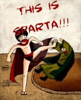 THIS IS SPARTA by sir-ryken