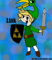 Link From The Legend Of Zelda by Just-Me143