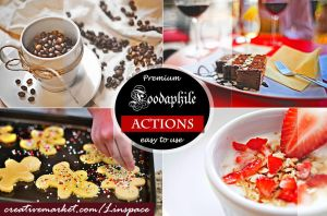 (50% off) Foodaphile3 -6 HDR Actions by linspace