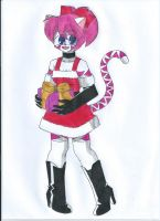 Art Trade: Santa Yuni by animequeen20012003