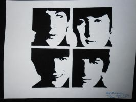 The Beatles by TheSuperiorSpiderMew