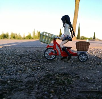 Figure photography #1- Homura's ride by Bea2028
