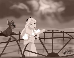 Over the Laughing Sky by DisneyFan-01