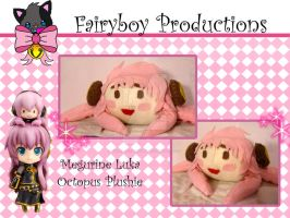 Megurine Luka Plushie by LunarFoxDesigns