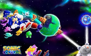 Sonic Colors Collab by FANTASY-WORKS-JMBD