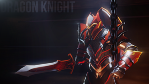 DOTA 2 Dragon Knight Stance by Samuel-Benjamin