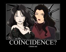 Coincidence: FMA Lust and LoK Asami by Angel-of-Alchemy-42