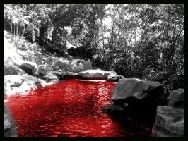 The Pool of Blood by sirithlainion