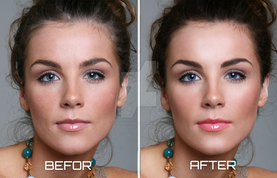Simple Photo Retouching by Peterehab19