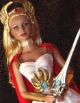 OOAK She-Ra Princess of Power Doll by ShannonCraven