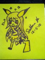 Pika Girl by EternalArtGirl740