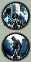 Assassin's Creed Icons by kodiak-caine
