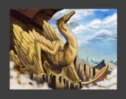 Feather Dragon by Aaron-Radney