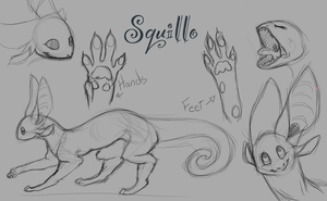 Squillo Species (OLD VERSION) by FoolsCourage