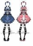 Victorian lolita outfit adoptables 1/2 by AS-Adoptables