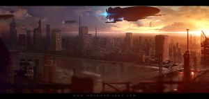 Cairo 2045 concept by TheFearMaster