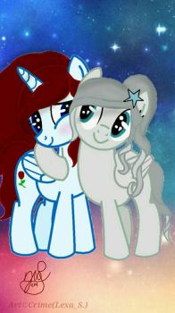 SSparkle08 and Me! by CMidnight18