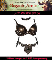 OA Lady Warrior Set 01 by Muttstock
