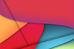 Colourful Abstract Wallpaper by SilentPotatoGFX