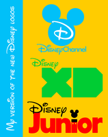 My own Disney Channel logos by DLEDeviant