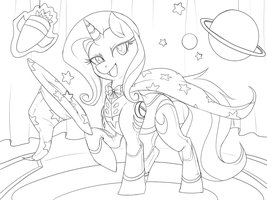 Draft 1 - Trixie by Lionel23