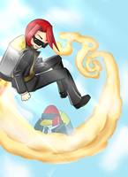Club Penguin - Jet Pack Guy [Humanized] by GalaxiasHM