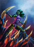 She Hulk symbiote by cric