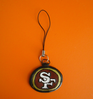 49ers Cell Charm by LocoOmoKatze