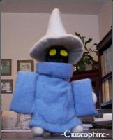 Black Mage Plush by Cristophine