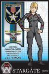 Col. Samantha Carter by stourangeau