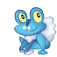 Froakie without the background by Paroxysmal-Harlequin