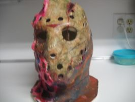 Custom jason mask by monkeythe13th