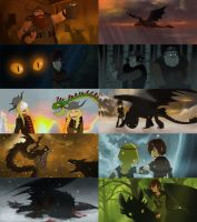 HTTYD 2D screenshots sequel by Detkef