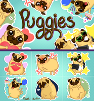 puggies by miri-chiwa