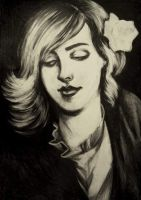 Portrait of Holly Hayes, 2010 by LordOrlando