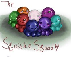 The Squshie Squad by KittensInABlenDur
