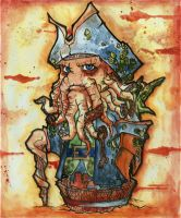 Davy Jones by nightgrowler