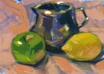 Still life painting - Color sketch by lshgsk