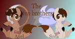 The fox brothers by SuperRosey16