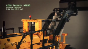 LEGO Technic 42030 Volvo Front End Loader by ryanthescooterguy